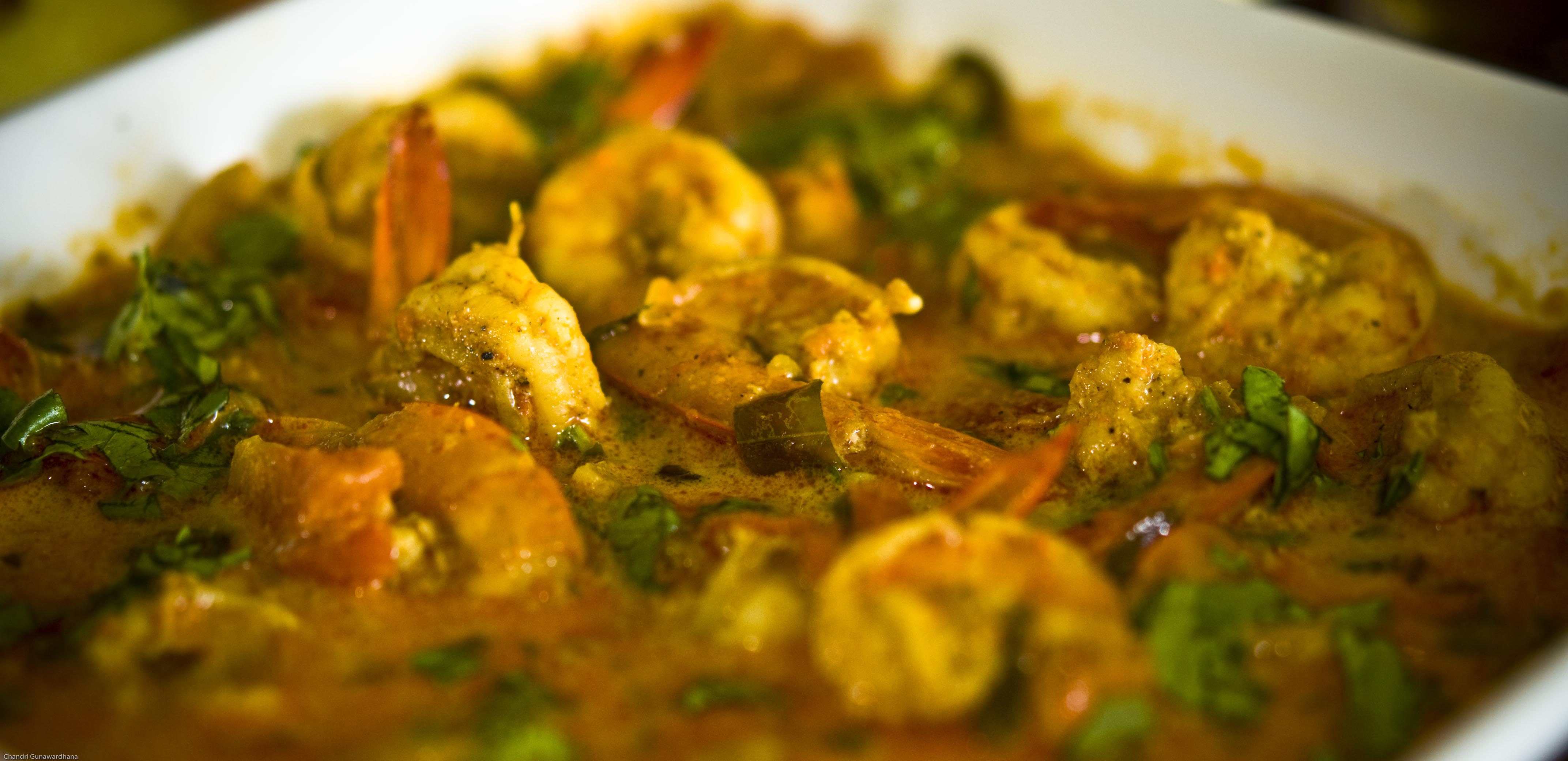 Southern prawn curry sri lankan cuisine flava8 39 s blog for Authentic sri lankan cuisine
